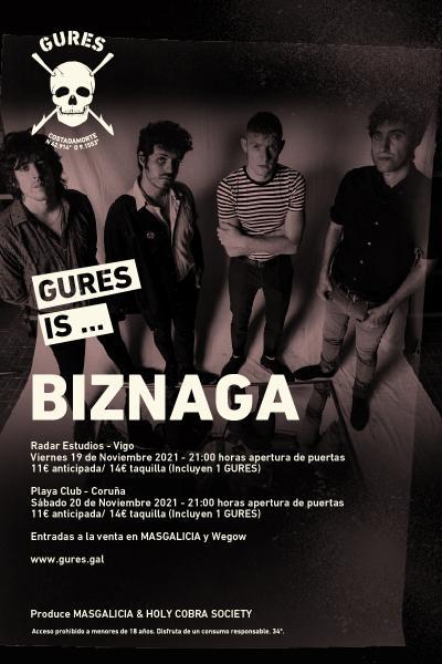 Biznaga en Coruña | Gures is on tour