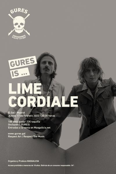 Lime Cordiale en Madrid | Gures is on tour